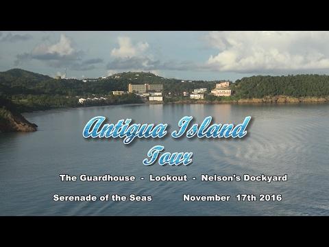 Antigua Land Tour 2016  4K
