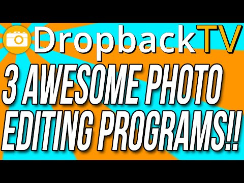 3 Photo Editing Programs That Will Make Your Videos Better!!