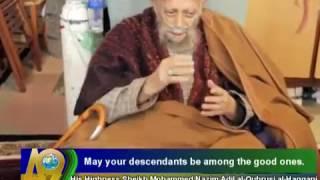 Shaykh Nazim talks about Harun Yahya Video