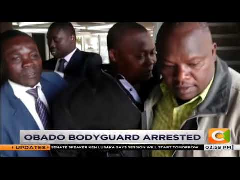 Obado's Bodyguard Arrested Over Fakery #CitizenBriefs