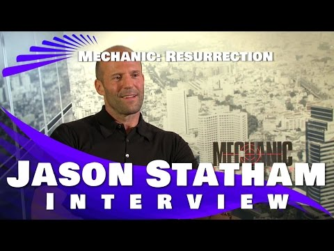 MECHANIC RESURRECTION - JASON STATHAM INTERVIEW