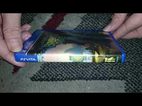 Nostalgamer Unboxing Broken Age On Sony PlayStation Vita Limited Run Games Region Free