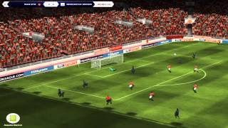 Fifa Manager 14 Gameplay - Part 23 - Manchester United vs Newcastle United - Barclay Premier League