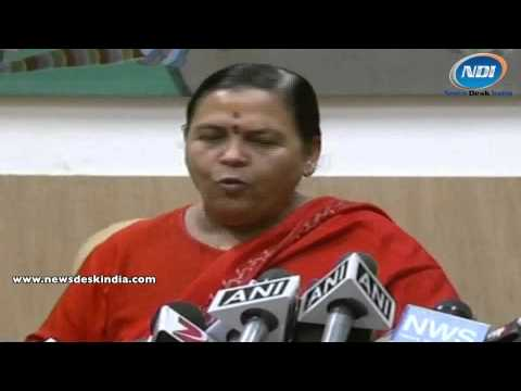 There must be a temple built at the land of Lord Rama: Uma Bharti