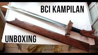 Kampilan Filipino Sword Unboxing and First Impressions (Blade Culture International)