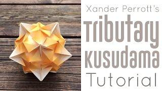 Origami Tributary Kusudama Tutorial