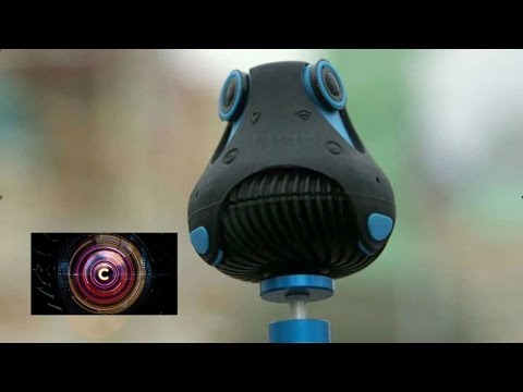 CES 2016: Giroptic 360 degree camera put to the test - BBC Click