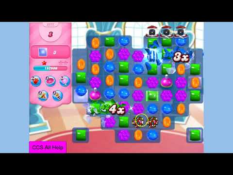 Candy Crush Saga Level 3272 NO BOOSTERS Cookie