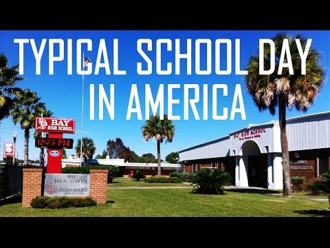 Life in the USA - A Typical School Day