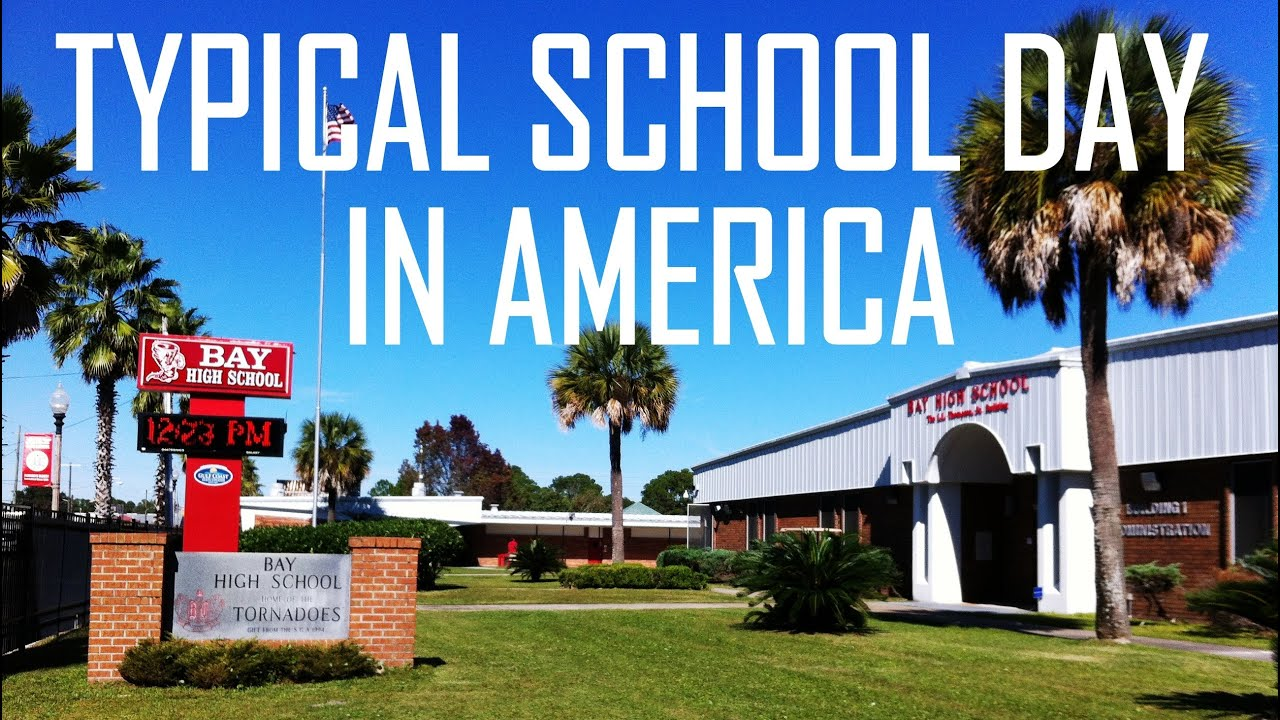 Life in the USA - A Typical School Day - YouTube