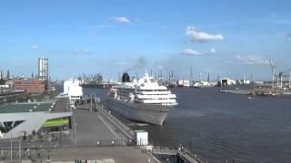 cruise ship horn MS AMADEA | Phoenix Reisen