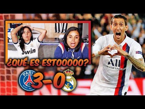 ¡QUE GOLEADA! REACCIÓN AL PSG VS REAL MADRID (3-0) *FINAL ÉPICO JAJA | Dúo Dinámico