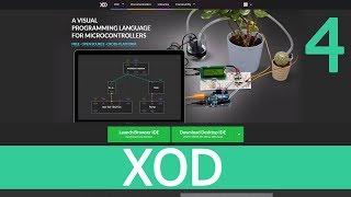 XOD IDE Урок 4 - Подключение библиотек, IR датчик и ИК пульт