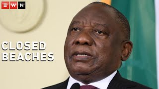 President Cyril Ramaphosa addressed the nation on Monday evening to provide an update on COVID-19 restrictions after entering the second wave.  #Ramaphosa #COVID19news #Beaches