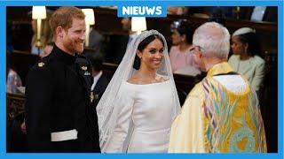 Prins Harry en Meghan Markle zijn getrouwd