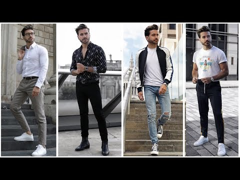 4 EASY & AMAZING OUTFITS FOR MEN | Mens Fashion Inspiration Lookbook | Alex Costa