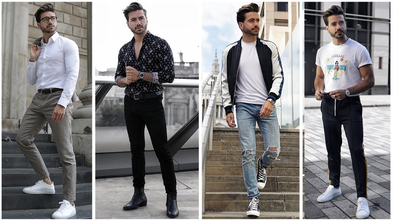 4 EASY & AMAZING OUTFITS FOR MEN