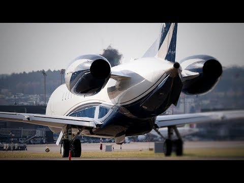 Embraer Executive Jets Special Planespotting @ Zurich Airport Januar 2018