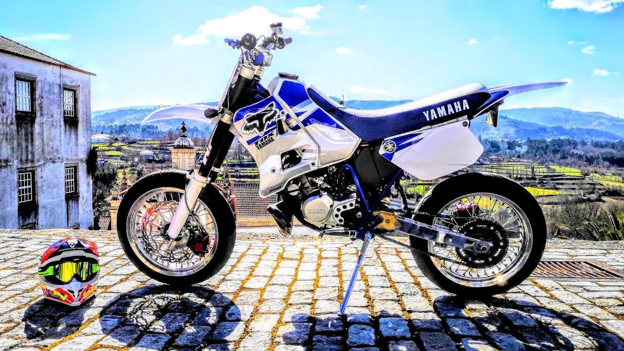 Plásticos Yamaha Dtr 125 Com Autocolantes – Name