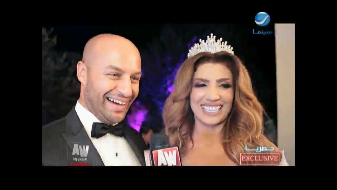 """عرب وود l حصري من كواليس حفل زفاف الفنانة التونسية """"إيمان الشريف"""""""
