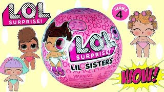 LOL Surprise Lil Sisters Eye Spy Seria 4 • nowy bobas do kolekcji