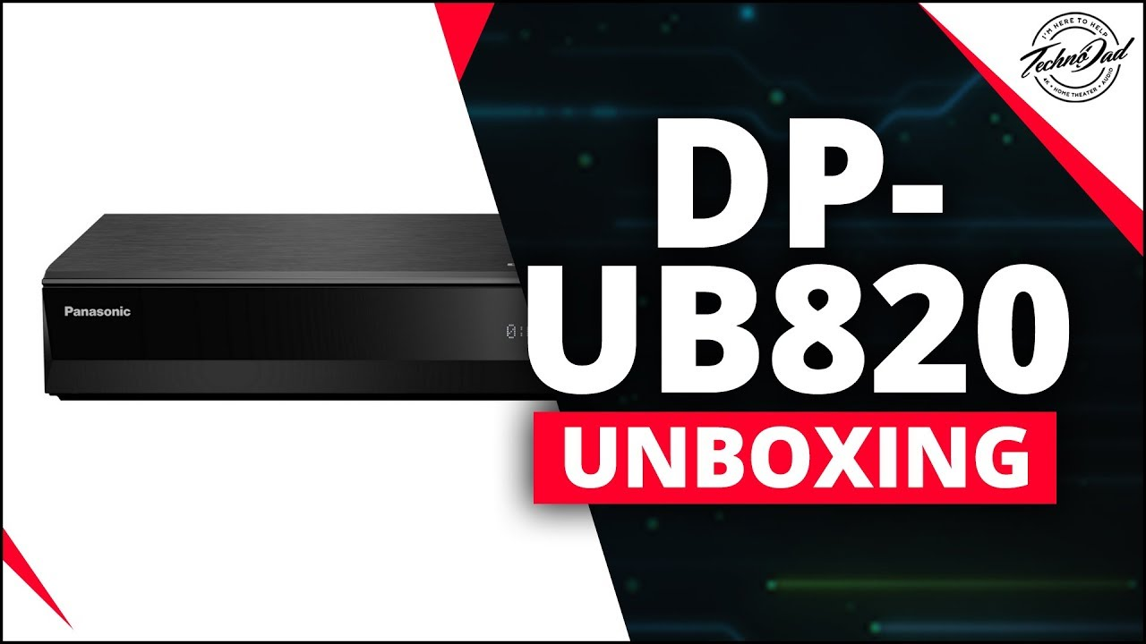 Panasonic DP-UB820 | Dolby Vision Arrives! | 4K Home Theater