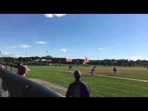Longmeadow High School's Zach Wright hits go-ahead double against Pittsfield