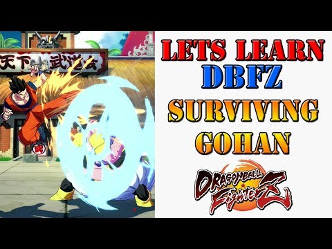 Lets learn DBFZ! - How to survive against Adult Gohans pressure
