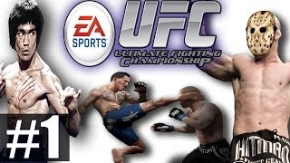 Прохождение EA Sports UFC 2014 - Ч.1 - Новичок