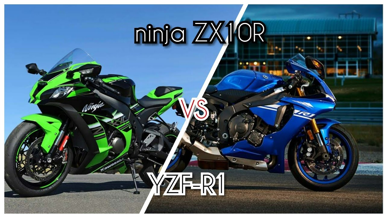 Kawasaki Ninja Zx10r Vs Yamaha R1 Top Speed Exhaust Sound
