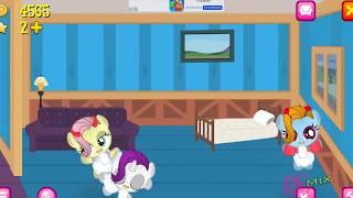 ПОНИ-Зомби.Карманная пони 2.Мультик игра для детей My little pony дружба это чудо