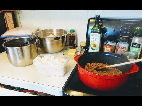 Rice, Beans & Ground Beef - Budget Meals
