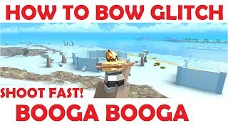 Roblox Booga Booga - AWESOME BOW GLITCH!