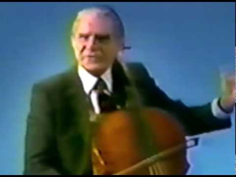 A lesson with Leonard Rose: 1978