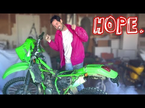 $200 Kawasaki Dirt Bike - THE COMEBACK
