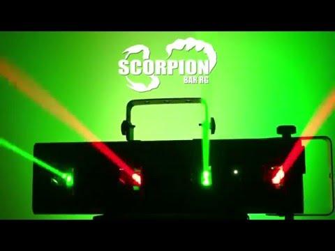 Chauvet DJ Scorpion Bar RG Quad-beam Aerial Effect Laser