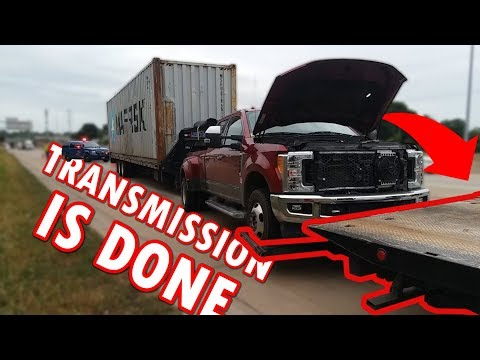 Ford F350 Breaks Down In Detroit and Tow Truck Damages Truck