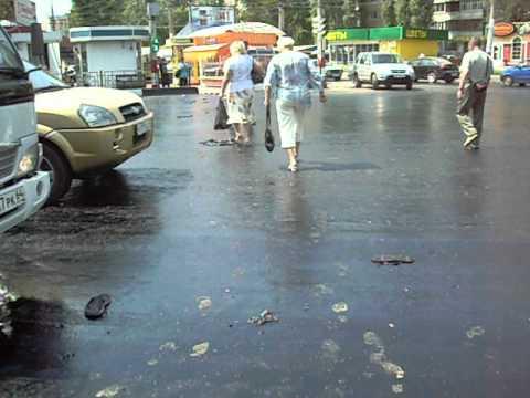 ремонт дороги в Энгельсе