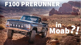 Jumping My F100 Prerunner in Moab | Christopher Polvoorde