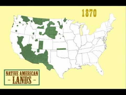 Saylororg HIST002 Native American Land Losses HIST002 YouTube