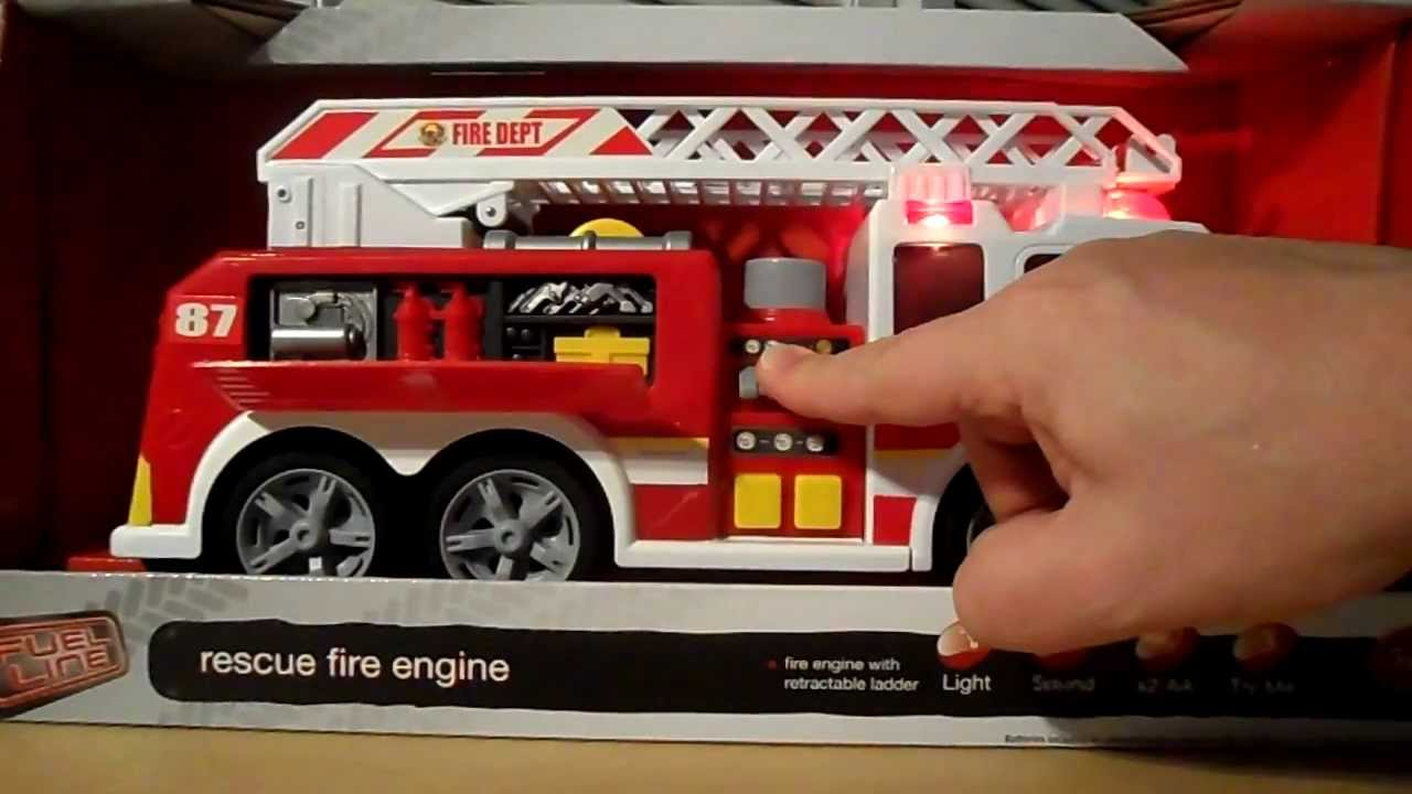 Fire Engine By Dickie Toys Rescue Truck Sound Effects – Fondos de