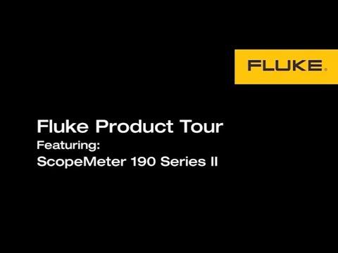Key benefits of the Fluke 190 series II ScopeMeter portable oscilloscopes