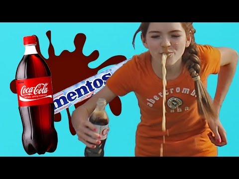 Thumbnail: Coke And Mentos Challenge!