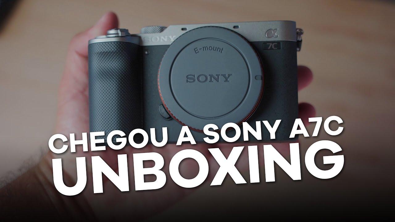 [SONY A7C] Unboxing em português