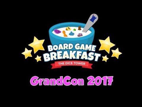Board Game Breakfast - GrandCon 2017