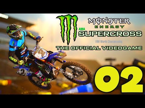 MONSTER ENERGY SUPERCROSS (FR) - 02 - MODE CARRIÈRE | PS4 PRO
