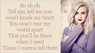 Little Mix ~ They Just Don't Know You ~ Lyrics