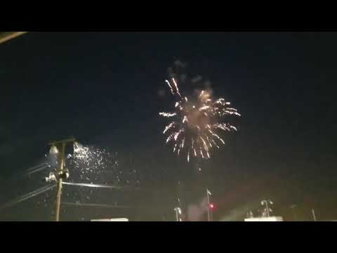 Fireworks at Selinsgrove Speedway 7/18