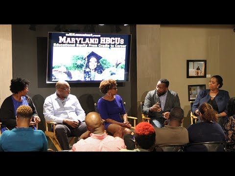 The Role of Maryland HBCU's in Advancing Equity