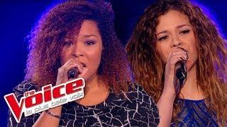 The Voice 2015│Maliya Jackson VS Carole Anne - Éblouie par la nuit (Zaz)│Battle